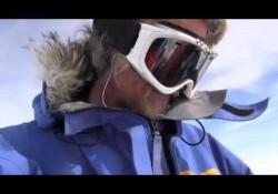 So sieht es aus, wenn man nach 86 Tagen Südpol eine Packung Chips findet
