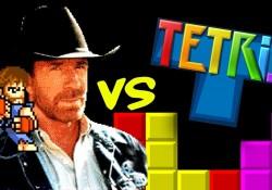 Wenn Chuck Norris eine Videospielfigur wäre…in Tetris