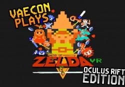 Original Zelda von 1986 in 3D mit Occulus Rift