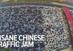 Sieht aus, als hätte China den Verkehr erfunden