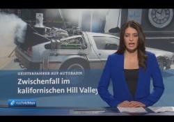 Tagesschau – DeLorean in Hill Valley aufgetaucht