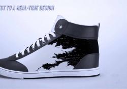 Der ultimative Schuh – Sneaker mit Display